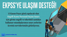 İzmir e-KPSS Ücretsiz Servis Desteği