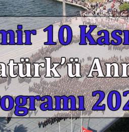 İzmir Büyükşehir Belediyesi 10 Kasım Atatürk'ü Anma Programı 2020