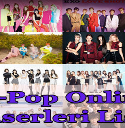 K-Pop Online Konserleri Listesi