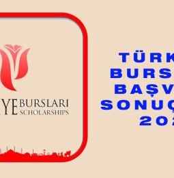 Türkiye Bursları Başvuru Sonuçları 2021