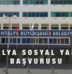 Antalya Büyükşehir Belediyesi Sosyal Yardım Başvurusu