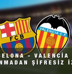 Barcelona – Valencia Maçı Canlı Şifresiz İzle 19 Aralık 2020