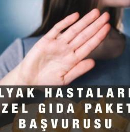 İzmir Çölyak Hastalarına Özel Gıda Paketi Başvurusu Yapma