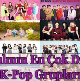 2020 Yılında En Çok Dinlenen K-Pop Şarkıları