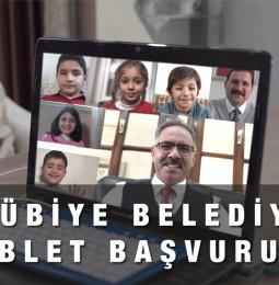 Eyyübiye Belediyesi Tablet Kampanyası Başvuru Yapma