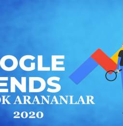 Google En Çok Arananlar Listesi 2020 Arama Trendleri