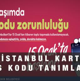 İstanbul Kart Hes Kodu Yükleme Eşleştirme Kayıt Formu
