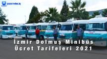 İzmir Minibüs Dolmuş Ücretleri 2021