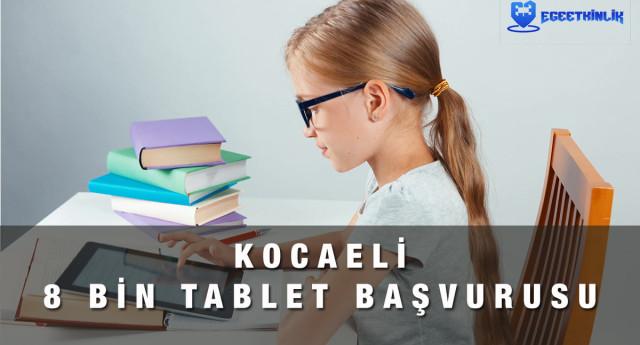 Kocaeli Ücretsiz Tablet Başvurusu Yapma