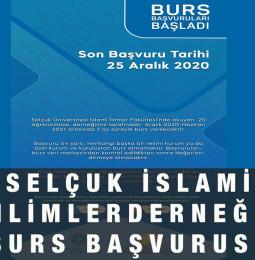 Selçuk İslami İlimler Derneği Burs Başvuru Formu