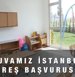 Yuvamız İstanbul Kreş Başvuru Formu