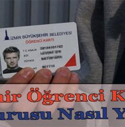 İzmir Öğrenci Kartı Başvurusu Nasıl Yapılır 2021