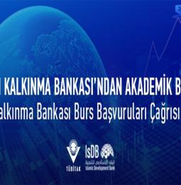 İslam Kalkınma Bankası Bursları Başvurusu 2021