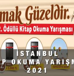 İstanbul Ödüllü Kitap Okuma Yarışması Başvuru 2021