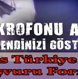 O Ses Türkiye Rap Başvuru Formu