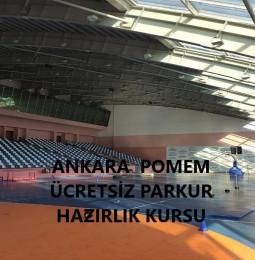 Ankara POMEM Ücretsiz Parkur Hazırlık Kursu Başvuru Formu