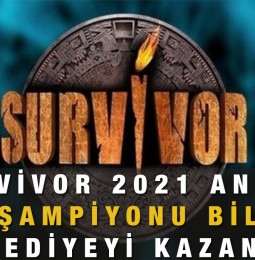 Survivor 2021 Anketi Şampiyonu Bil Hediyeyi Kazan!