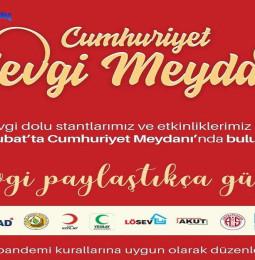 Antalya Cumhuriyet Sevgi Meydanı Etkinliği – 11/12 Şubat 2021