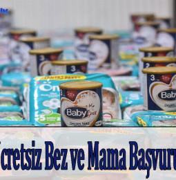 Ankara Ücretsiz Bez ve Mama Başvurusu 2021
