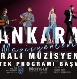 Ankaralı Müzisyenlere Destek Programı Başvuru Formu