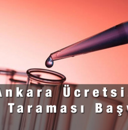 Ankara Ücretsiz SMA Testi Başvuru