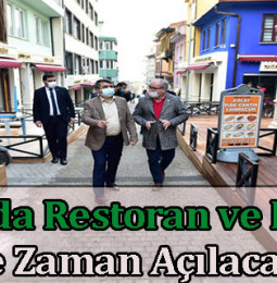 Bursa'da Restoran ve Kafeler Ne Zaman Açılacak? 2021