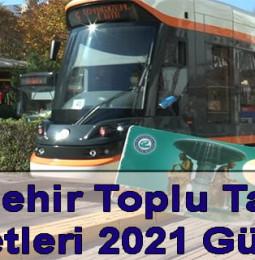 Eskişehir Toplu Taşıma Ücretleri 2021 Güncel