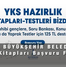 İzmir YKS Kitapları Kitap Kart Başvuru Formu 2021