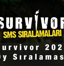 Exxen.com Survivor SMS Oy Sıralaması 23 Şubat 2021