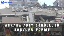 Ankara Afet Gönüllüsü Başvurusu Nasıl Yapılır?