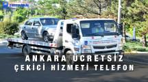 Ankara Ücretsiz Araç Çekici Hizmeti Telefon Numarası