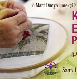 Bornova Kadın Emeği Pazarı – 8/9 Mart 2021