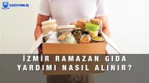 İzmir Ramazan Gıda Yardımı Başvuru Formu 2021