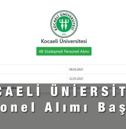 basvuru.kocaeli.edu.tr Personel alımı başvuru nasıl yapılır?