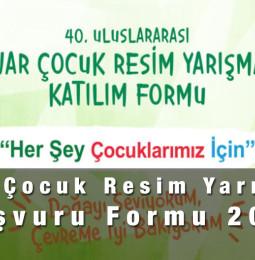 Pınar Çocuk Resim Yarışması  Başvuru Formu 2021