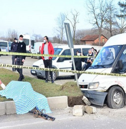 Samsun'da Kaza Yapan Bir Adam İntihar Etti!