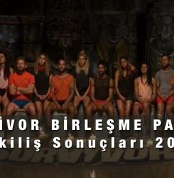 Survivor Birleşme Partisi Çekiliş Sonuçları 2021