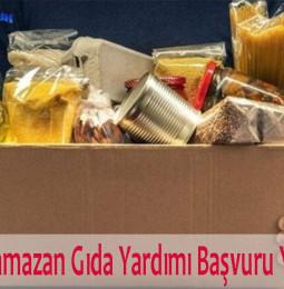İstanbul Ramazan Gıda Yardımı Başvuru Yapma 2021