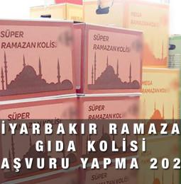 Diyarbakır Ramazan Gıda Kolisi Yardım Başvuru Yapma