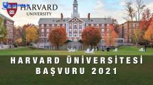 Harvard Üniversitesi Başvuru Formu 2021