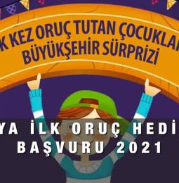 Konya Büyükşehir Belediyesi Oruç Hediyesi Başvuru 2021