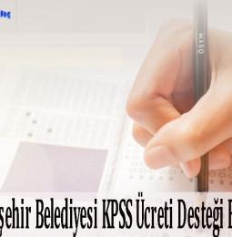 Ankara Büyükşehir Belediyesi KPSS Ücreti Desteği Başvuru Formu 2021