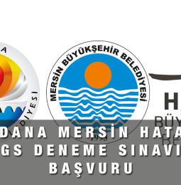 Adana, Mersin, Hatay LGS YKS Online Deneme Sınavı Başvuru Formu 2021