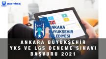 Ankara YKS – LGS Online Deneme Sınavı Başvuru Formu 2021