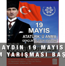 Aydın 19 Mayıs Resim Yarışması Başvuru 2021