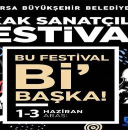 Bursa Sokak Sanatçıları Festivali – 01/03 Haziran 2021