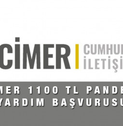 Cimer 1100 TL Pandemi Yardım Başvurusu Nasıl Yapılır?