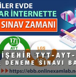 Eskişehir LGS – YKS Online Deneme Sınavı Başvuru Formu 2021