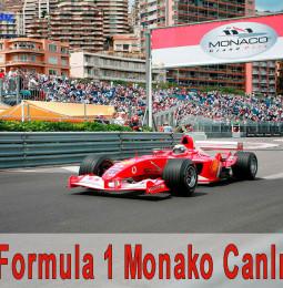 23 Mayıs Formula 1 Monaco Canlı İzle 2021