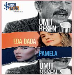 Ümit Besen, Pamela, Eda Baba Bayram Özel Konseri – 13 Mayıs 2021